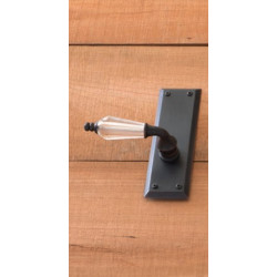 Brass Accents D07-L539 Quaker Door Hardware with Kinsman Lever