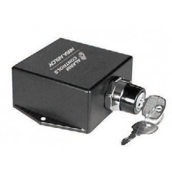 Alarm Controls TS-17 Surface Mounted Push Button Switch, Key Controlled, One N/O and One N/C 10A Contact