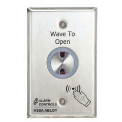 Alarm Controls NTS No Touch Request to Exit, Dual Color LED, Red/Green Indicates Active/Inactive Status