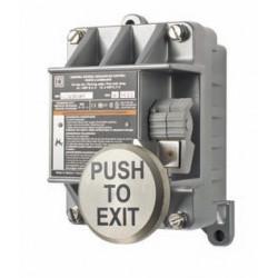 """Alarm Control EXP N/O and N/C, Class I & II, Division I & II, Group B, C, D, E, F & G, Nema 7 & 8 """"PUSH TO EXIT"""""""