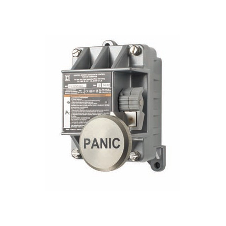 """Alarm Control EXP Action Switch, Button labeled """"PANIC"""""""