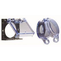 Alarm Control LU Clear Lexan Cover For Mounting Plates