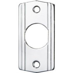 Alarm Control MP Chrome Wall Plated Brass Mini-Plate, Remote Plates