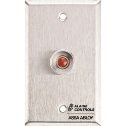 Alarm Control RP-26 Narrow, Slim-line, Stainless Steel Wall Plate, Guard Ring
