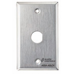 Alarm Control RP Single Gang, Stainless Steel Wall Plate
