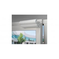 Alarm Control AM3370C Three Piece Z Bracket, including Dress Cover, for 600 Series Single Magnetic Locks Clear anodized