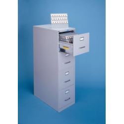 Lund 140 Four Drawer Key Cabinets (Letter Size) without Key System