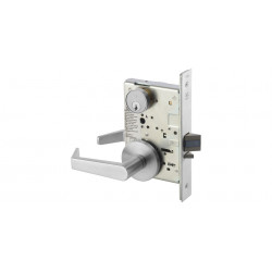 Yale 8800FL Electrified Mortise Lever Lock w/ Rose