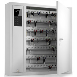 Key-Box 9500 SC Series Expandable Key Cabinets, Locking Intelligent Key Fobs(1 Cabinet)