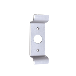 Value Brand 8P03 Exterior Pull with Cylinder Cut Out, Finish- Aluminum