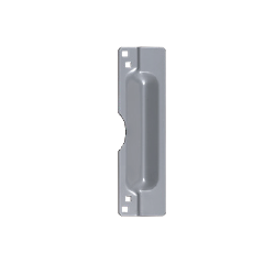 """Value Brand DT100061 Latch Guard Protector 3"""" x 11"""", Finish- Aluminum"""