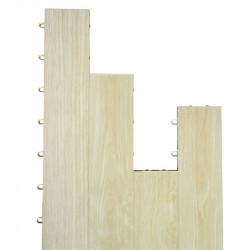 Mateflex 6730 ProGym Plank, Tile Module, Color-Maple