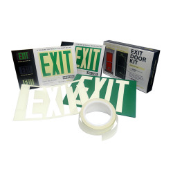Safe T-Nose SKIT Egress Signs Exit Door Kit