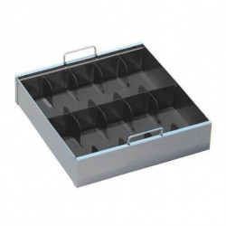 MMF 2251070 10-Compartment Currency Tray