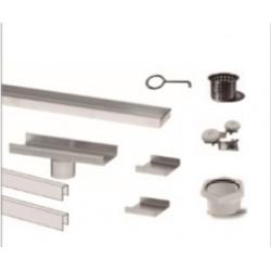"""QM Drain 33 Adjustable 2"""" Outlet Base Kit, Linear Drain Delmar Series Parts"""