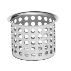 QM Drain 83.100.04 DL Hair/Debris Stainless Steel Strainer for Linear Drains and Delmar Square