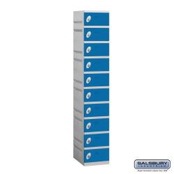 "Salsbury 90168 12"" Wide Plastic Locker - 1 Wide - 6 Feet High - 18"" Deep"
