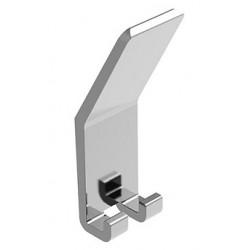 "Magnuson K-2187A Anodized Aluminum Coat Hook, Finish-Titanium, Width-1 1/4"""