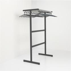 Magnuson T-DV/K-100 Tertio Double Sided Floor Rack-Powder-Coated Frames, Finish-Dark Grey