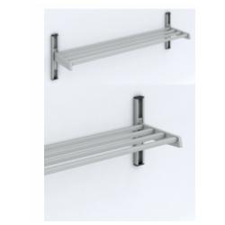 Magnuson WU01A Single Shelf Villa/ Boot Utility Style Wall Rack Mounted W/ 3 Brackets