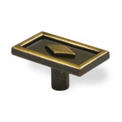 SIRO ETC-024 ETC Etcetera Antique Brushed Brass KNOB