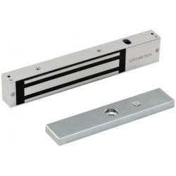 Locknetics M Satin Stainless Steel Mag Lock W/ Aluminum Brackets