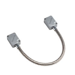 """Locknetics DC-HD-16 Heavy Duty Door Cord W/ Aluminum Boxes, Stainless Steel Cable, 16"""" Length"""