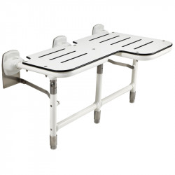Ponte Giulio G55W Bariatric Reverisble Double Folding Shower Seat