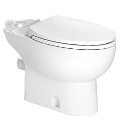 Saniflo 087 Toilet Bowl Elongated White For Saniaccess2, Saniplus, Sanibest Pro & Saniaccess3 Only