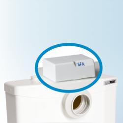 Saniflo 050 Sanialarm-Alarm for Saniplus, Sanibest Pro, Sanigrind Pro, Sanipack & Sanivite, Battery Not Included