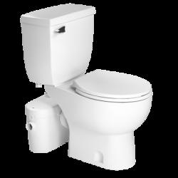 Saniflo 081083005 Saniaccess 2 Round Combo-Macerator, Round Bowl & Toilet Tank