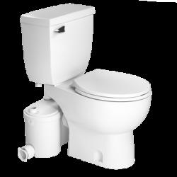 Saniflo 013083005 Sanibest Pro Round Combo-Grinder, Round Bowl & Toilet Tank