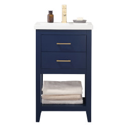 Design Element S02 Cara Single Sink Vanity