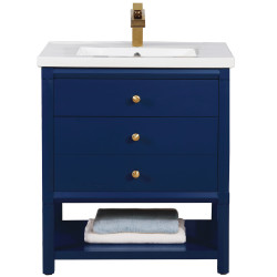 Design Element S07 Logan Single Sink Vanity 30""