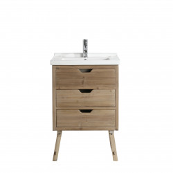 "Design Element DEC4010 Fredric 24"" Single Sink Vanity in Natural"