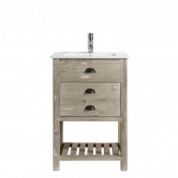 "Design Element DEC4300 Asbury 24"" Single Sink Vanity in Natural"