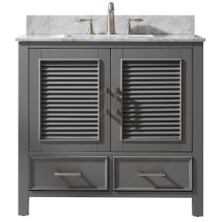 "Design Element ES-36 Estate 36"" Single Vanity"