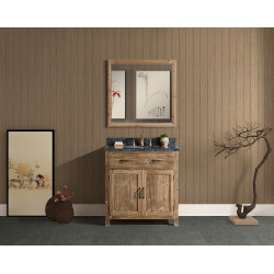 Design Element DEC4002 Bryson Vanity Base in Walnut