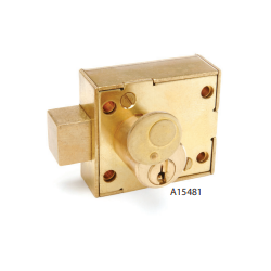 CCL A1548 Enclosure Lock,Brass Dead Bolt