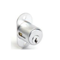 CCL 00 02291 Sliding Door Lock, Pin Tumbler, Finish- Satin Brass Plated, Length- 7/8