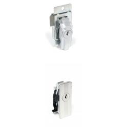 CCL 002 Panel Enclosure Lock, Finish-Satin Chrome Plated