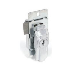 CCL 15767 Series, Panel Enclosure Lock, Finish-Dull Chrome