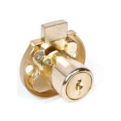 CCL 2068 Series Drawer Lock, Keying- JVR, Finish-Dull Brass