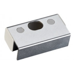 IDTECK IBK600 Stainless Steel Bracket for Top and Button Frameless Glass Door, Electric Dead Bolt Brackets