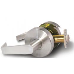 FHI 2500-CLARE Grade Two Rigid Lever Lockset, Finish-Satin Chrome