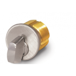 """FHI M118T Solid Brass 1 1/8"""" Mortise Thumb Turn Cylinder"""