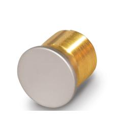 FHI M Solid Brass Mortise Cylinder Dummy