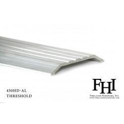 FHI 450HD-AL Heavy Duty Aluminum Threshold W/ Mill Finish