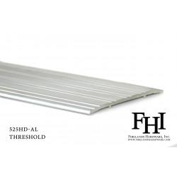 FHI 525HD-AL Heavy Duty Aluminum Threshold W/ Mill Finish