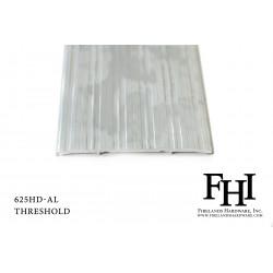 FHI 625HD-AL Heavy Duty Aluminum Threshold W/ Mill Finish